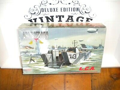 Armagedon Model Kit.d Day Landing Craft.1/72 Scale.boxed