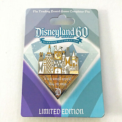 Collector Pin Disney Its A Small World 2015 LE 3000 Disneyland