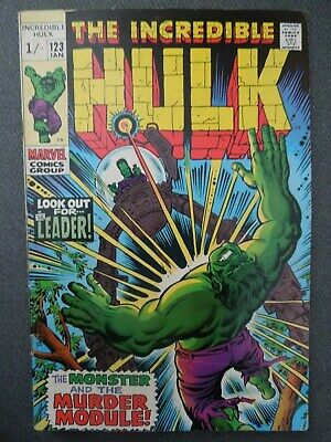 Incredible Hulk  #123 (Vol One 1970)