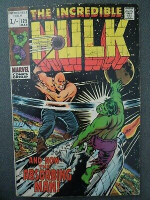 Incredible Hulk  #125 (Vol One 1970)