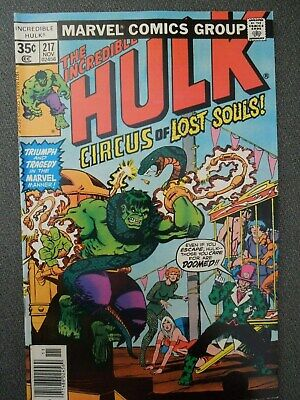 Incredible Hulk  #217 (Vol One 1977)