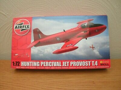 AIRFIX KIT, HUNTING PERCIVAL JET PROVEST T.4 , No.A55116,1:72, VGC,COMPLETE