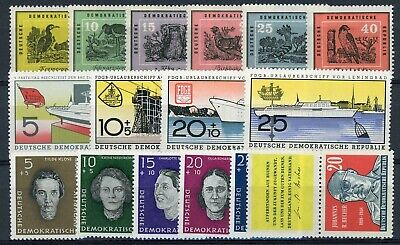 sl1123 East Germany - DDR - Very Good Mint Lot