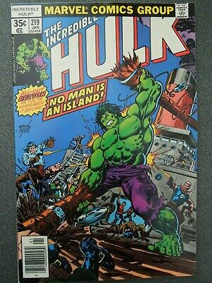 Incredible Hulk  #219 (Vol One 1978)