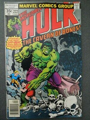 Incredible Hulk  #222 (Vol One 1978)