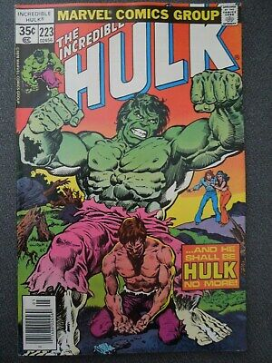 Incredible Hulk  #223 (Vol One 1978)