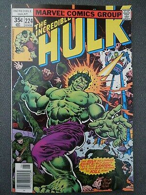 Incredible Hulk  #224 (Vol One 1978)
