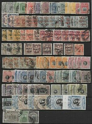 Peru'  1909-21    Used  Stamps   USED -VF   # Mich. Lot