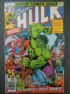 Incredible Hulk  #227 (Vol One 1978)