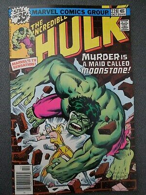 Incredible Hulk  #228 (Vol One 1978)