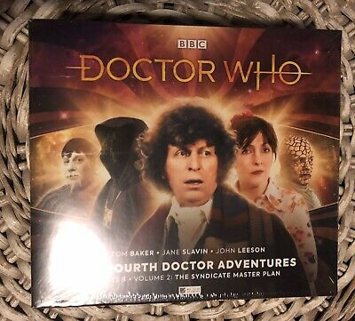 Big Finish 4CD Doctor Who THE FOURTH DOCTOR ADVENTURES Series 8 Vol 2, Tom Baker