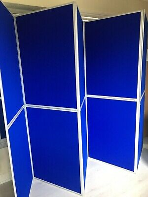 10 panel folding exhibition display board
