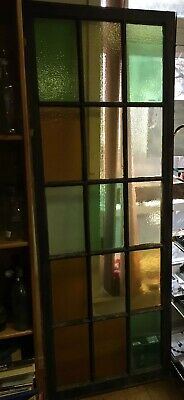 Antique Stain Glass Window Local Pick Up Only
