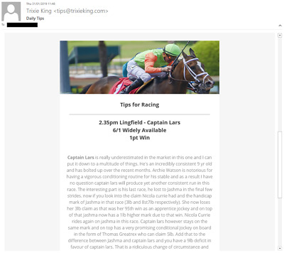 1 Month of horse racing tips and information - Results Sheet Available!