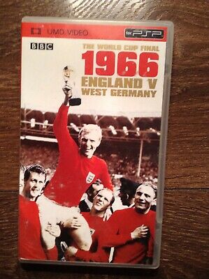 The 1966 World Cup Final Full Coverage On Umd Format For Psp