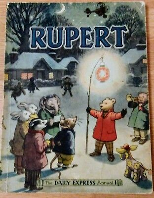 Vintage Original 1949 Rupert Annual , unsubscribed, unclipped.