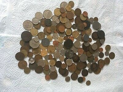 Job Lot Of Old Coins