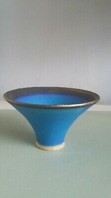 Studio Pottery Vase With Mark/stamp Unknown..