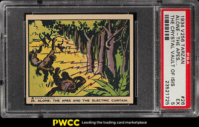 1934 V256 Tarzan And The Crystal Vault Of Isis Alone The Apes #26 PSA 5 (PWCC)