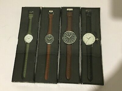 Eaglemoss collection of 4nr war style watches -Quartz, sealed in original boxes