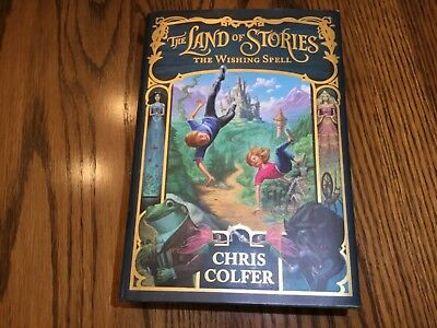 The Land of Stories: The Wishing Spell 1 by Chris Colfer (2012, Hardcover)