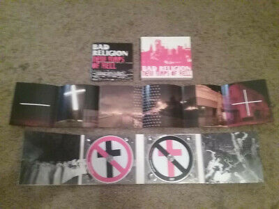 New Maps of Hell - Bad Religion (2008, 2 Discs) Deluxe Edition
