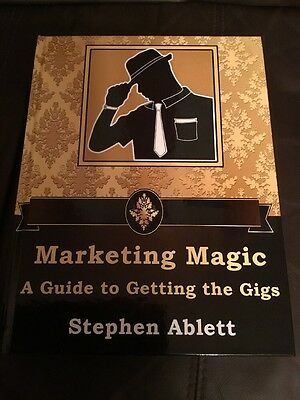 Marketing Magic - A Magician's Guide to Getting Gigs - Business Book & DVD (New)