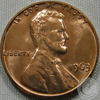 1963-P Unc Lincoln Memorial Penny Nice Coin **Make An Offer**