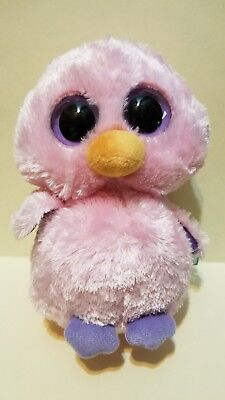 NOS Ty Beanie Boo Posy the Pink Duck Chick 6