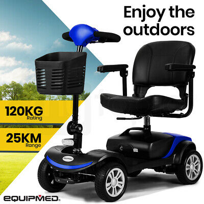 【UP TO 20%OFF】EQUIPMED Mobility Scooter Electric Motorised 4 Wheel Power