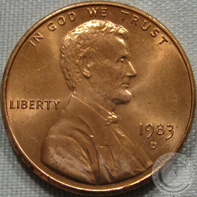 1983-D Unc Lincoln Memorial Penny Nice Coin **Make An Offer**