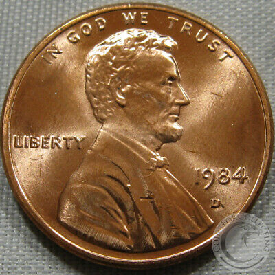 1984-D Unc Lincoln Memorial Penny Nice Coin **Make An Offer**