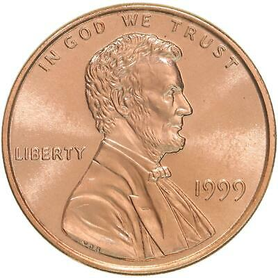 1999 Lincoln Memorial Cent Gem BU Penny US Coin