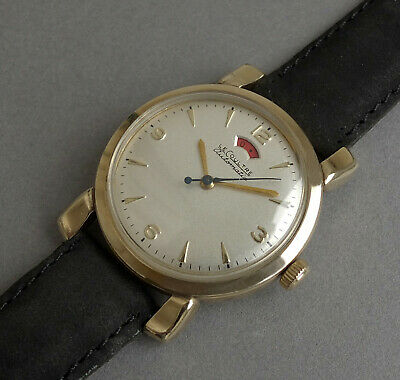 JAEGER LECOULTRE POWERMATIC 10K Gold Filled Vintage Automatic Watch 1953