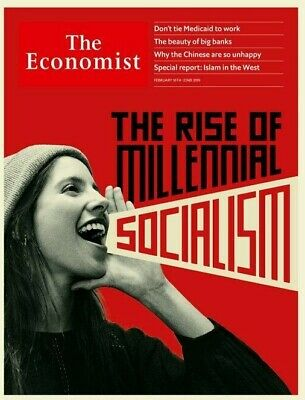 The Economist February 16-22 2019 Rise of Millenial Socialism