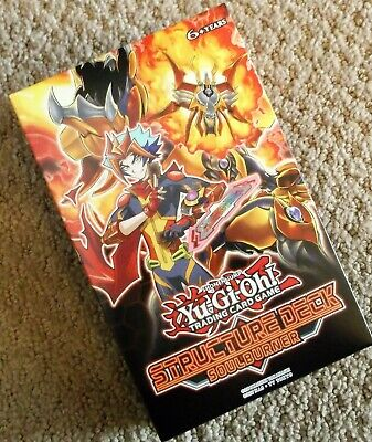 Yugioh Soulburner Structure Deck Free Same Day Free Shipping Sealed