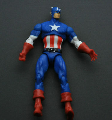 """THE AVENGERS Univers Super Heros Captain America 3/4 3.75"""" Loose Figures DY06"""