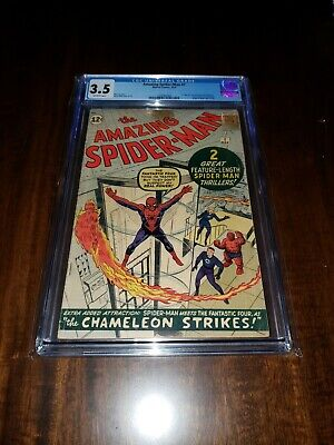 Amazing Spider-Man 1 CGC 3.5  HOLLY GRAIL!!  NO RESERVE!