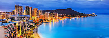 Return flights ex Melbourne for sale to Honolulu Hawaii for 2 adults