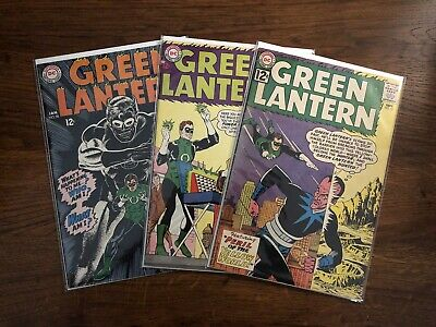 Green Lantern Silver Age Comic Lot (3) - Issues 15, 31 And 58