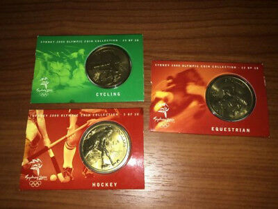 Syndey 2000 Olympic Coins Mint Condition