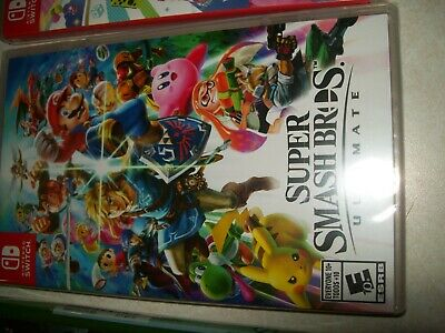 Super Smash Bros Ultimate Nintendo Switch Game Factory Sealed NEW!