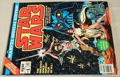 Star Wars #1 VF 8.0 high grade 1977 over-sized Marvel Treasury Edition 1st movie