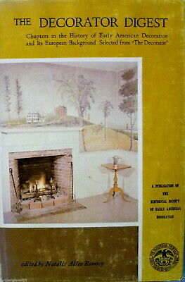 THE DECORATOR DIGEST illustrated 1965 HCDJ on Early American Home Decoration