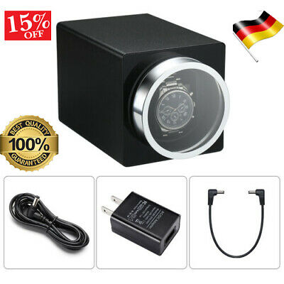 Uhrenbeweger Watch Winder für 1+Uhren Uhrenbox Rectangle Mute Automatische Black