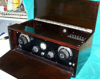 1925 Silver-Marshall ... Seven Tube Superhet Kit ... VG Cond w/type 30 Triodes
