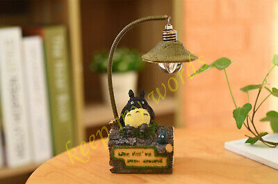 New anime Movie Totoro Cartoon Desk Lamp Night Light Lantern Fan Gift Collection