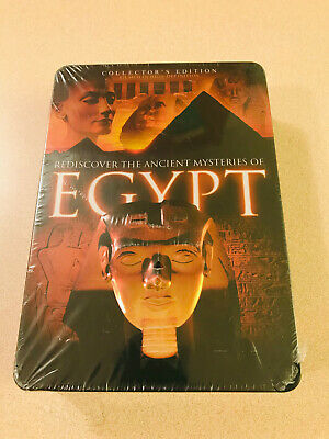 Rediscover The Ancient Mysteries Of Egpyt 5 DVD Set Tin Sealed New OOP 2008