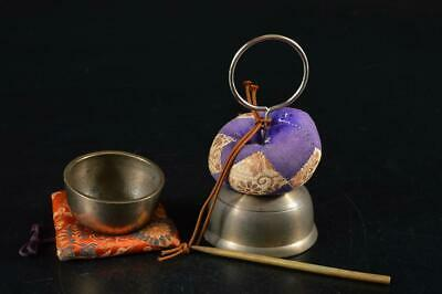 G7797: Japanese Copper BELL Buddhist art