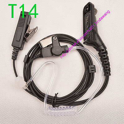 2-wire Earpiece Mic For Motorola APX4000 APX6000 APX7000 Portable Radio